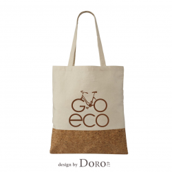 Cotton and Cork Tote go eco design + your logo for FREE*