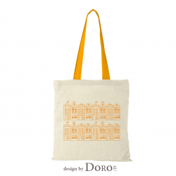 Cotton tote houses 2 design + your logo for FREE*