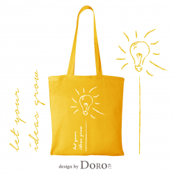 Cotton tote ideas design + your logo for FREE*