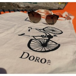 Cotton shopping bag natural, 100 gsm, 38x42 cm