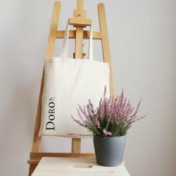 Canvas draagtas, naturel, 180 gsm, 38x42 cm