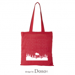 Cotton tote Christmas-2 design + your logo for FREE*
