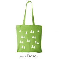 Cotton tote Christmas-3 design + your logo for FREE*