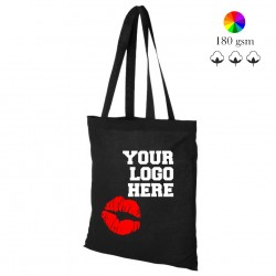 Peru cotton shopping bag, many colors, 180 gsm, 38x42 cm