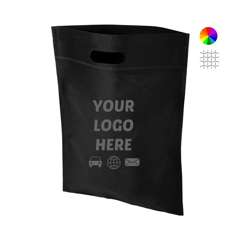 The Freedom Heat Seal Exhibition Tote with logo