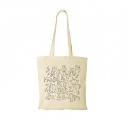 Cotton Tote natural 100gsm school design + your logo for FREE*