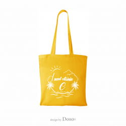 Cotton tote Holiday 2 design + your logo for FREE*