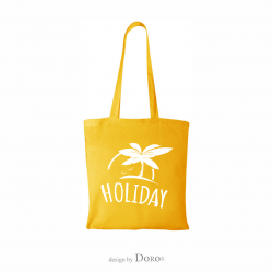 Cotton tote Holiday design + your logo for FREE*