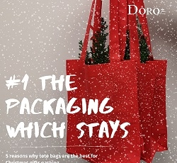 5 reasons why cotton goodie bags are the best for Christmas gifts packing